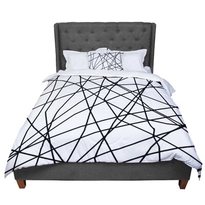 Trebam Paucina V2 Comforter Size: Queen, Color: White