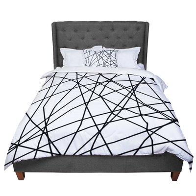 Trebam Paucina V2 Comforter Size: King, Color: White