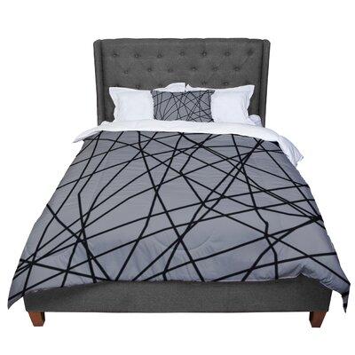 Trebam Paucina V2 Comforter Size: Queen, Color: Gray