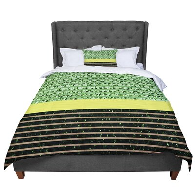 Trebam Stablo Abstract Comforter Size: Queen