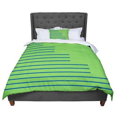 Trebam Stepenice Pattern Comforter Size: King