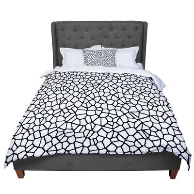 Trebam Staklo Abstract Comforter Size: King