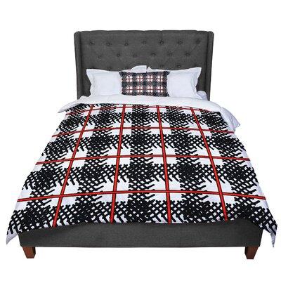Trebam Kariran Comforter Size: King