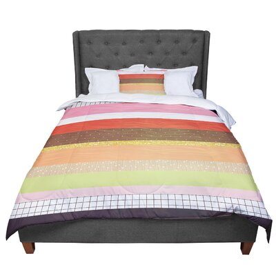 Strawberringo Mix Hodge Podge Comforter Size: Twin