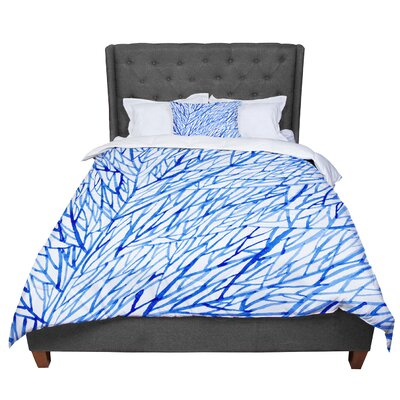 Strawberringo Branches Comforter Size: Twin