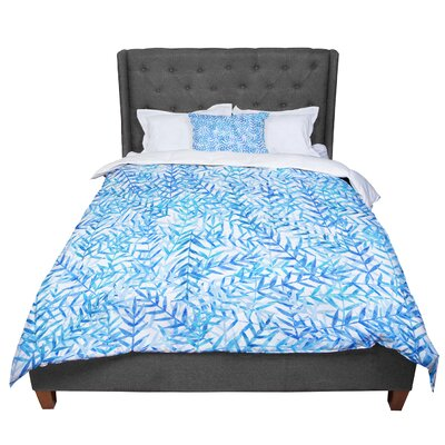 Strawberringo Comforter Size: Twin, Color: Dark Blue