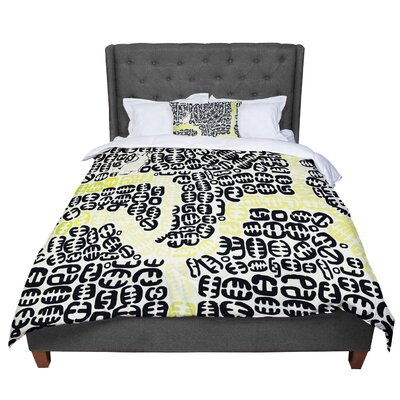 Theresa Giolzetti Oliver Comforter Size: Twin, Color: Yellow