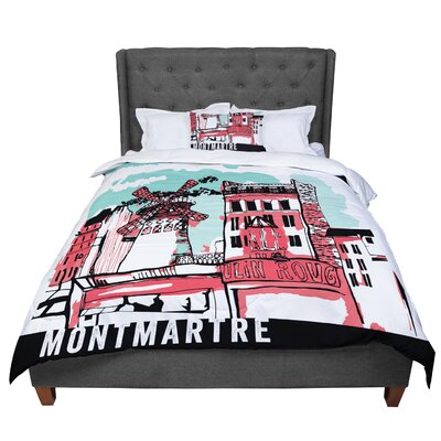 Theresa Giolzetti Montmartre Comforter Size: Twin