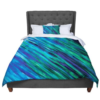 Theresa Giolzetti Comforter Size: Twin, Color: Blue