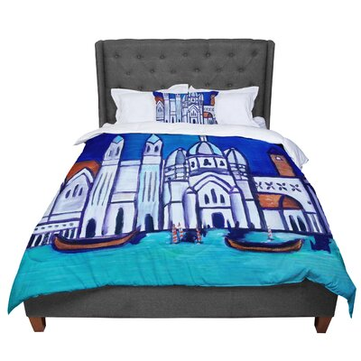 Theresa Giolzetti Venice Comforter Size: Queen