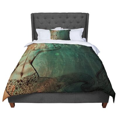 Theresa Giolzetti Poor Mermaid Comforter Size: Twin