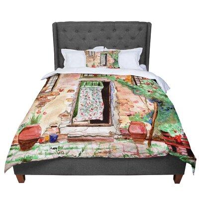 Theresa Giolzetti Tuscan Door Comforter Size: King