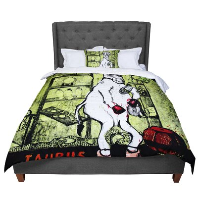 Theresa Giolzetti Taurus Comforter Size: Queen