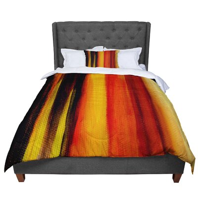 Theresa Giolzetti Firework Comforter Size: Queen