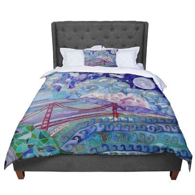 Theresa Giolzetti San Fran Comforter Size: King