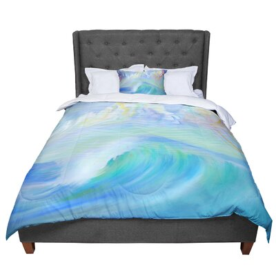 Theresa Giolzetti Jelly Fish Comforter Size: Queen