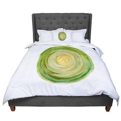 Theresa Giolzetti Leeks Comforter Size: Queen