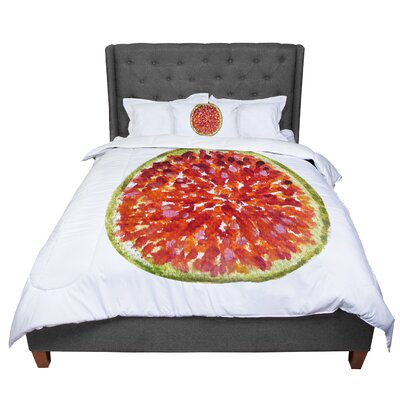Theresa Giolzetti Passion Fruit Comforter Size: Queen