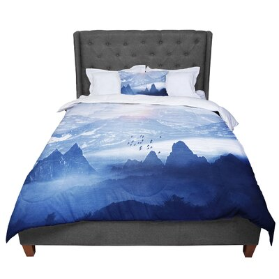 Viviana Gonzalez Winter and Melody Comforter Size: King