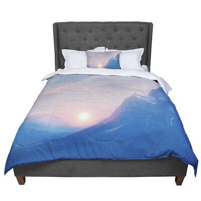 Viviana Gonzalez Pastel Vibes 08 Comforter Size: King