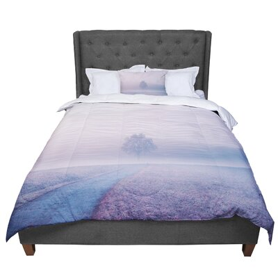 Viviana Gonzalez Pastel Vibes 02 Comforter Size: King