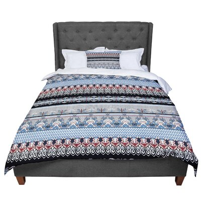 Victoria Krupp Nouveau Deco Comforter Size: Queen