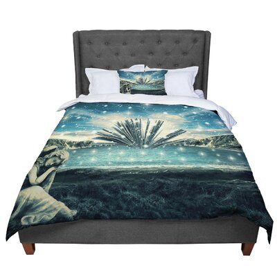 888 Design the Knowledge Keeper Fantasy Comforter Size: King