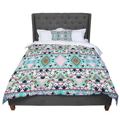 Vasare Nar Deco Hippie Comforter Size: Twin