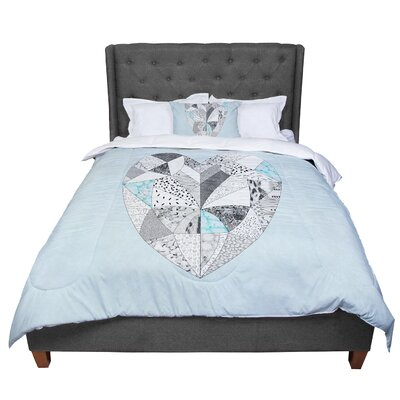 Vasare Nar Comheartment Comforter Size: King