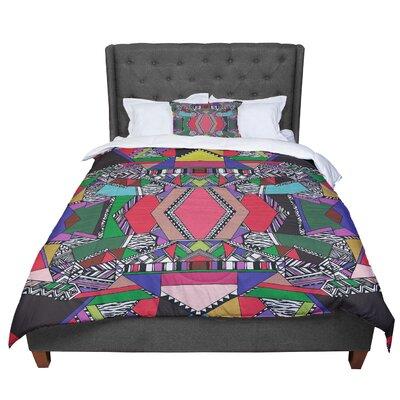 Vasare Nar African Motif Comforter Size: Queen