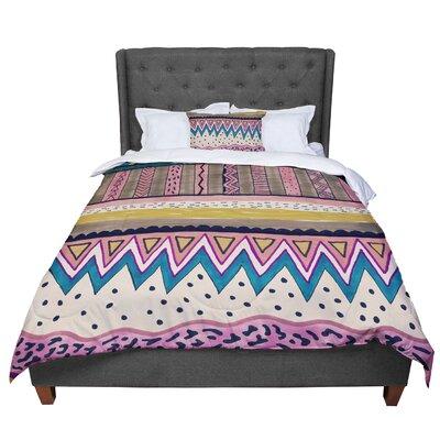 Vasare Nar Koko Comforter Size: King