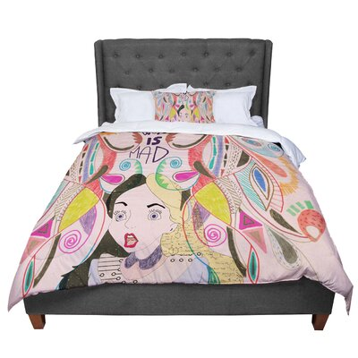 Vasare Nar Alice in Wonderland Comforter Size: Twin