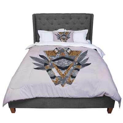 Vasare Nar Indian Feather Comforter Size: King
