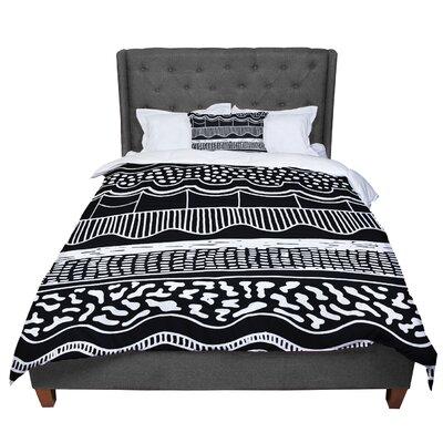 Vasare Nar Abiodun Tribal Comforter Size: King