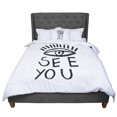 Vasare Nar Eye See You Comforter Size: Twin