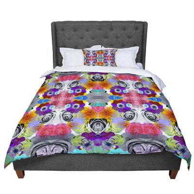 Vasare Nar Tropical Flowers Comforter Size: Twin