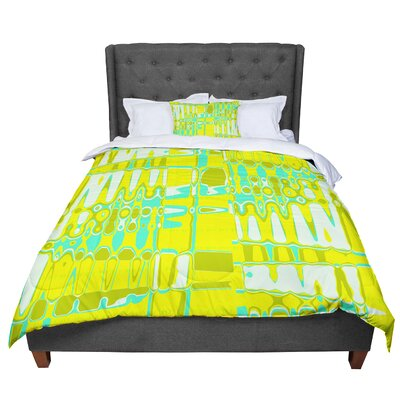Vikki Salmela Changing Gears Comforter Size: Queen, Color: Shunshine