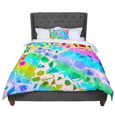 Vikki Salmela Jungle Talk Comforter Size: King