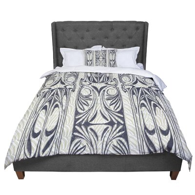 Vikki Salmela the Palace Comforter Size: King