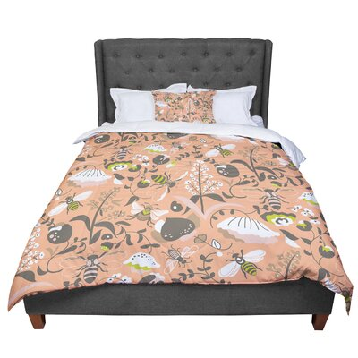 Very Sarie Hope for the Flowers I Comforter Size: King