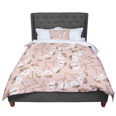 Very Sarie Hope for the Flowers III Comforter Size: Queen