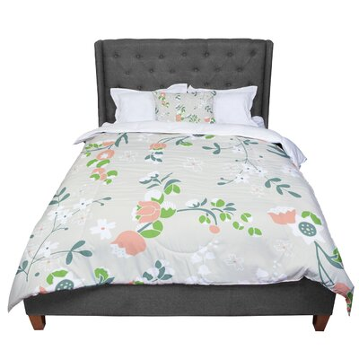 Very Sarie Early Waking Comforter Size: Queen