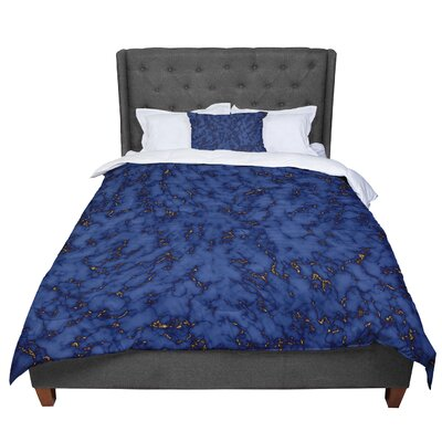 Will Wild Marble Comforter Size: King