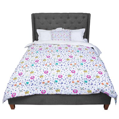 Yenty Jap Happy Skull Comforter Size: Queen