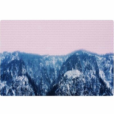Suzanne Carter Naked Wild Digital Blue/Pink Area Rug Rug Size: 2 x 3
