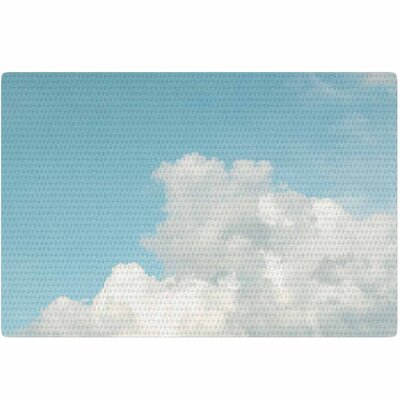 Suzanne Harford Summer Sky 3 Photography Blue/White Area Rug Rug Size: 4 x 6