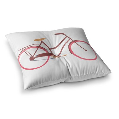 Bike by Alik Arzoumanian Floor Pillow Size: 23 x 23