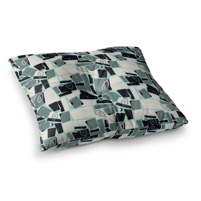 Vacation Days Chess by Allison Beilke Floor Pillow Size: 26