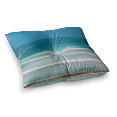 Sun and Sea by Ann Barnes Floor Pillow Size: 23 x 23