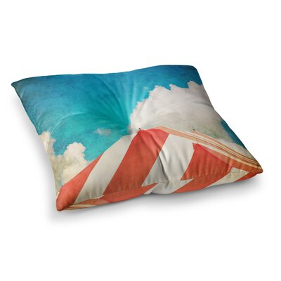 The Big Top by Ann Barnes Floor Pillow Size: 26 x 26